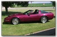 1993 Chevrolet Corvette Base, 1993 Chevrolet Corvette 2 Dr STD Hatchback picture