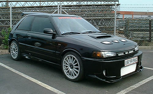 Picture of 1992 Mazda 323 SE Hatchback, gallery_worthy