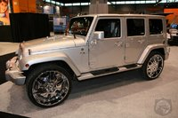 2008 Jeep Wrangler Unlimited X, when its tricked out :)