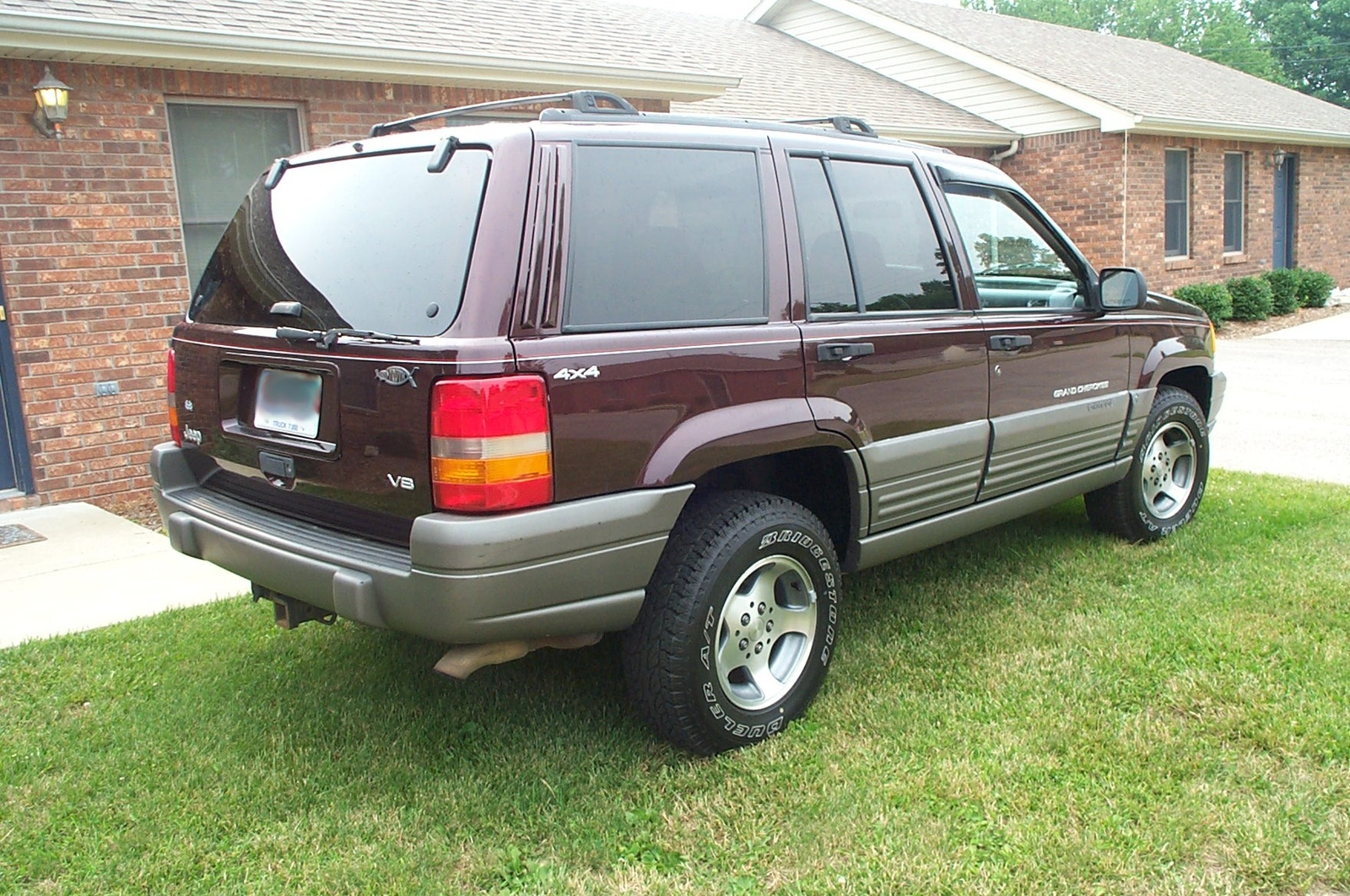 picture of 1997 jeep grand cherokee laredo 4wd. Black Bedroom Furniture Sets. Home Design Ideas