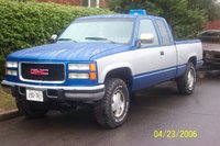 1992 GMC Sierra 2500 2 Dr C2500 Extended Cab SB picture second paint job done by my friend Eric Brennan