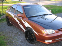 2001 Kia Sephia 4 Dr LS Sedan picture