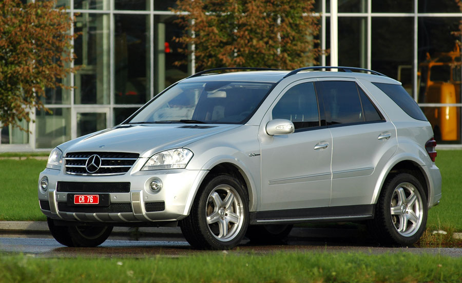 2007 Mercedes-Benz ML63 AMG Base picture