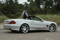 2005 Mercedes-Benz SL-Class 2 Dr SL55 AMG Convertible, 2005 Mercedes-Benz SL55 AMG 2 Dr Supercharged Convertible picture, exterior
