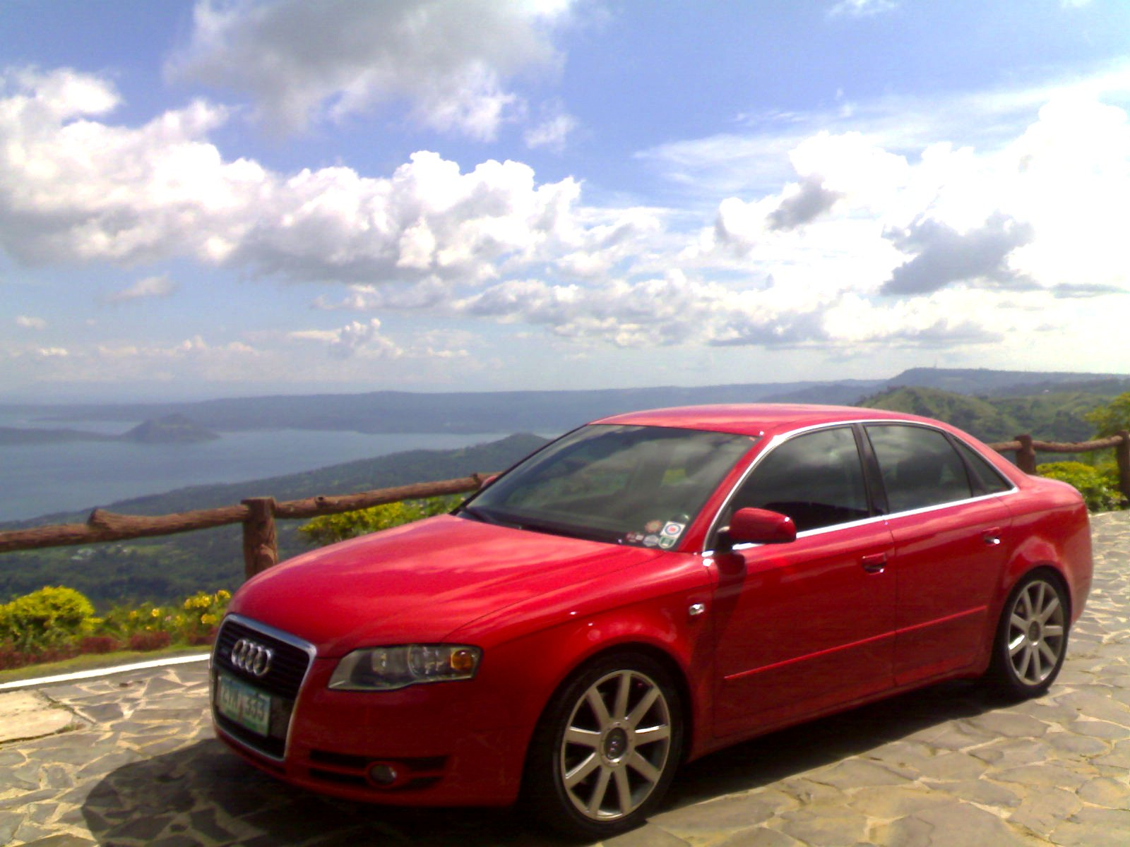 Audi A4 2005 Red