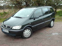 2003 Vauxhall Zafira Picture Gallery