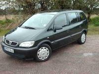 2003 Vauxhall Zafira Overview