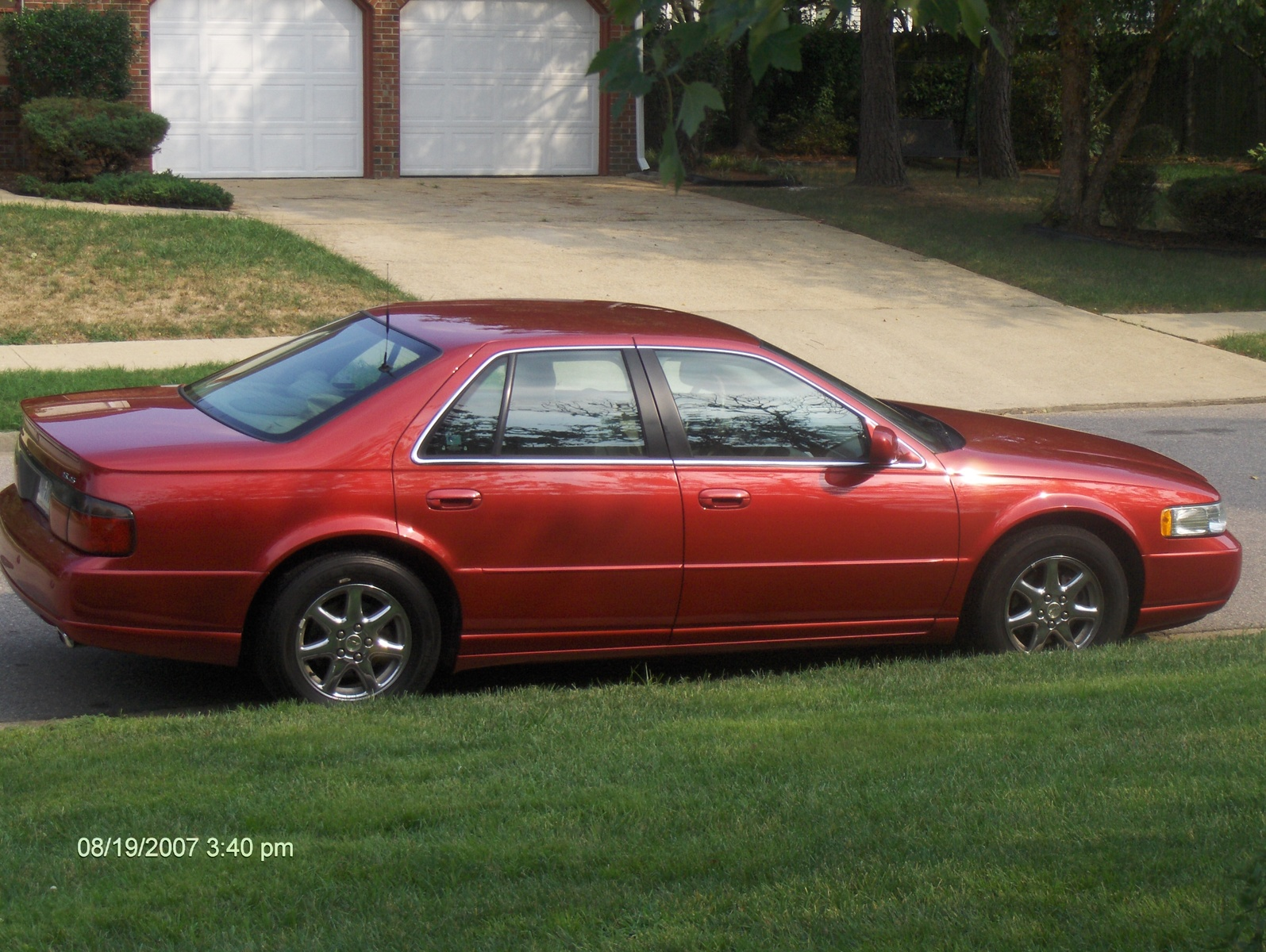 2002 Cadillac Seville - Pictures - 2002 Cadillac Seville STS pict ...