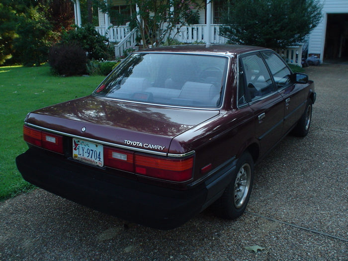 I Don't Know How This 1987 Toyota Camry Only Has 39,000 ...  |1987 Toyota Camry Interior