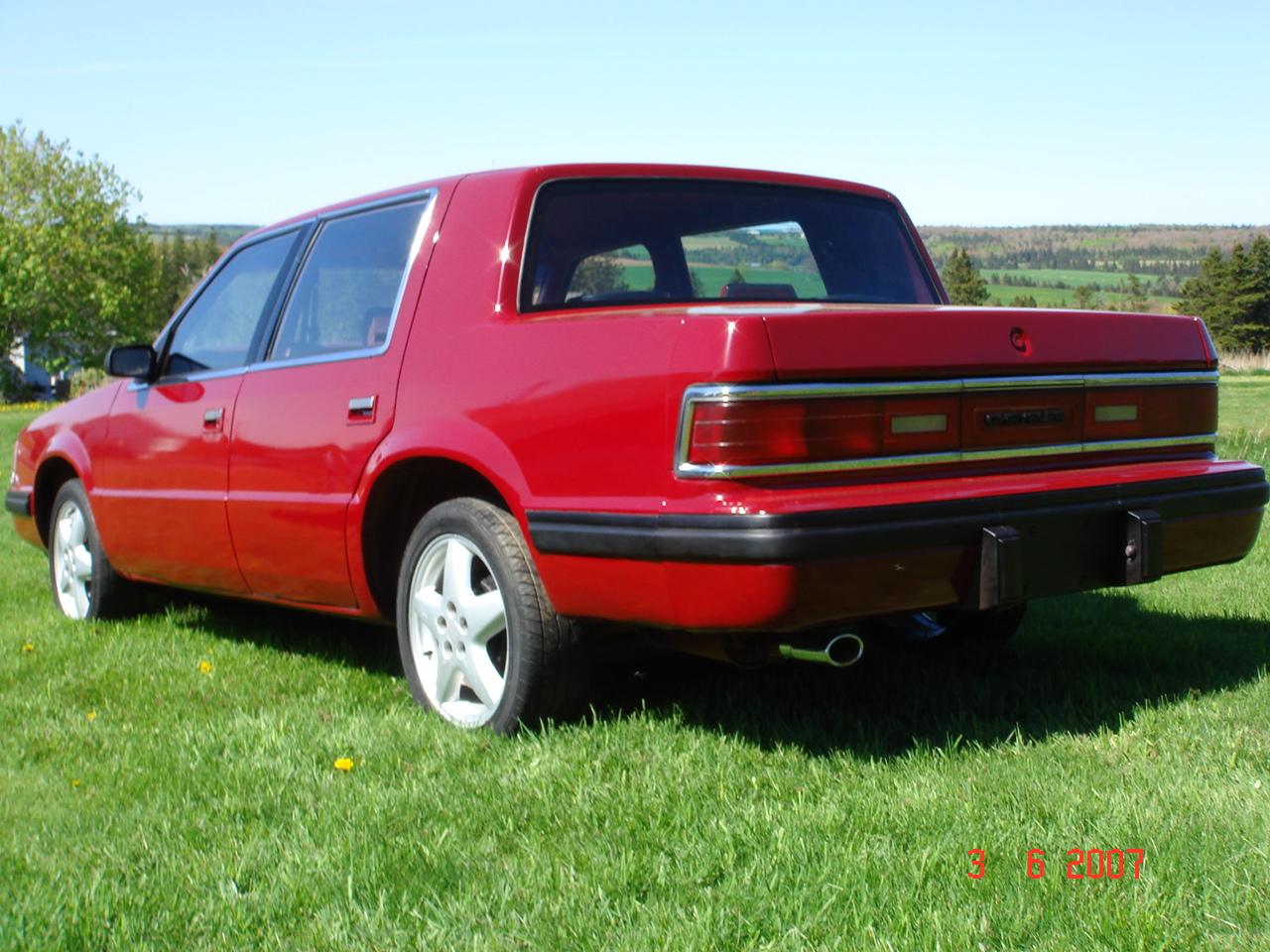 Dodge Dynasty Dr Le Sedan Pic