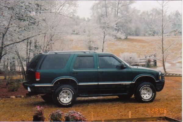 Chevrolet Blazer 1996. 1996 Chevrolet Blazer