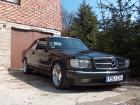 1991 Mercedes-Benz 500-Class Overview
