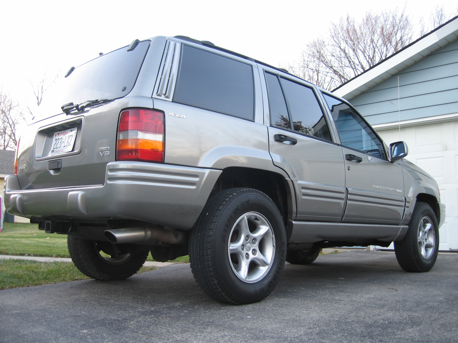 picture of 1998 jeep grand cherokee 5 9 limited 4wd. Cars Review. Best American Auto & Cars Review