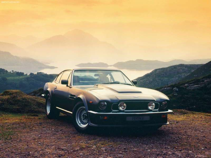 1977 Aston Martin V8 Vantage Pictures C11661 on triumph carbon fiber