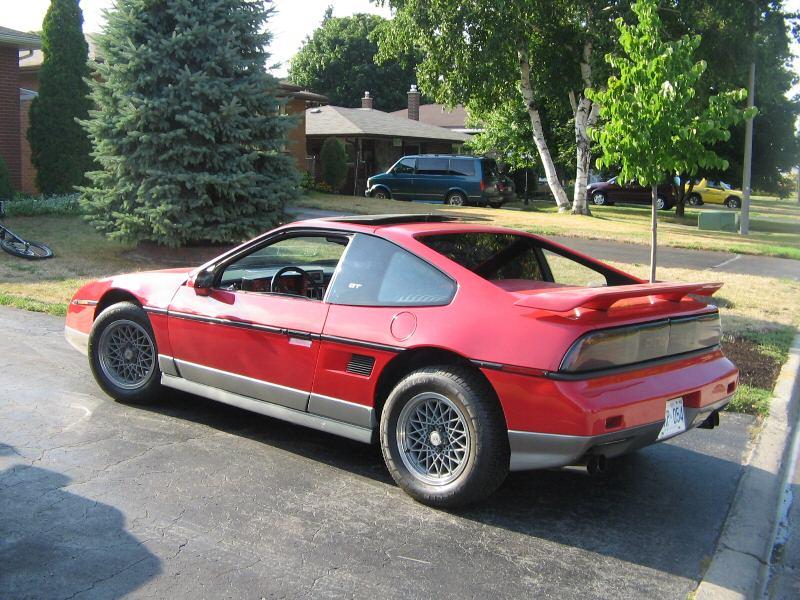 1986 Pontiac Fiero Pictures Cargurus