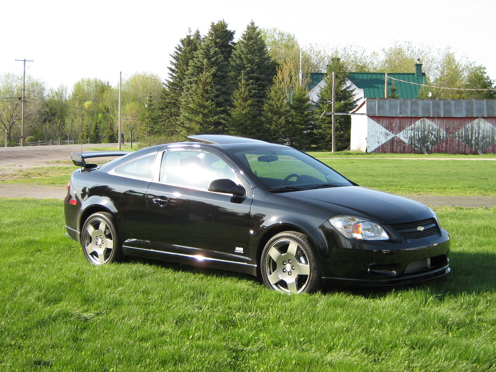 specifications 2007 chevrolet cobalt ss supercharged coupe. Black Bedroom Furniture Sets. Home Design Ideas