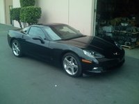 2006 Chevrolet Corvette Coupe, 2006 Chevrolet Corvette Base picture, exterior