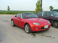 2005 Mazda MAZDASPEED MX-5 Miata 2 Dr Grand Touring Turbo Convertible picture, exterior