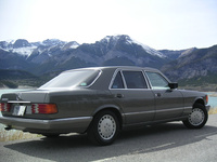 1991 Mercedes-Benz 560-Class 4 Dr 560SEL Sedan picture, exterior