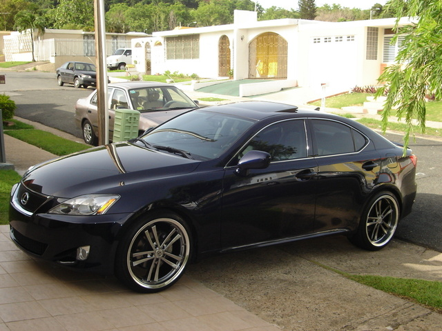 2007 lexus is 250 horsepower