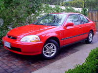 1996 Honda Civic Coupe HX picture