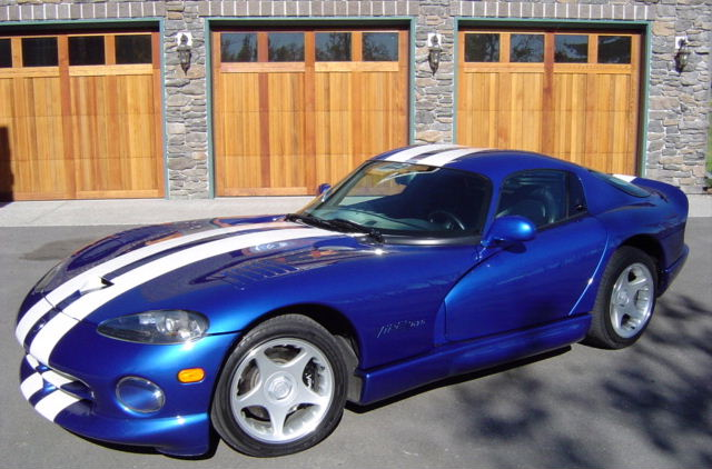 1997 Dodge Viper 2 Dr GTS Coupe picture