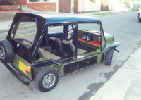 1968 Leyland Mini Moke Overview