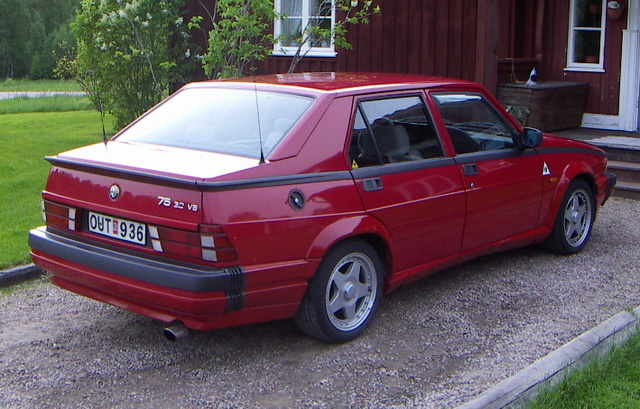 Picture of 1990 Alfa Romeo 75, gallery_worthy