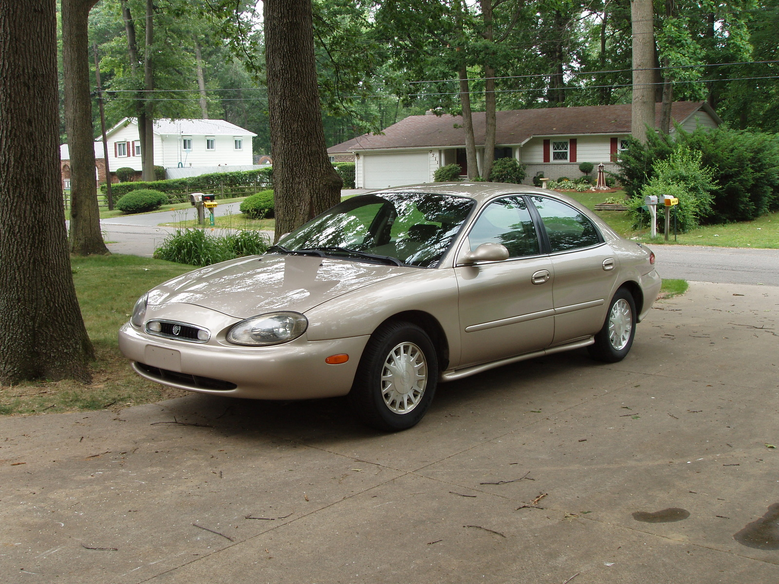 Picture of 1999 mercury sable 4 dr gs sedan exterior gallery_worthy