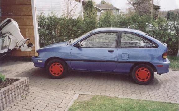 1994 Ford Aspire 2 Dr STD Hatchback - Other Pictures - 1994 Ford ...
