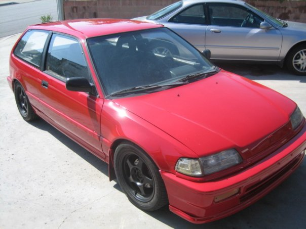 1989 Honda Civic Hatchback DX picture
