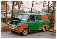 1975 Ford Transit Cargo Overview