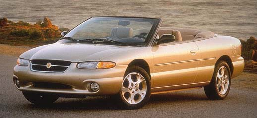 1996 Chrysler Sebring 2 Dr JXi Convertible picture