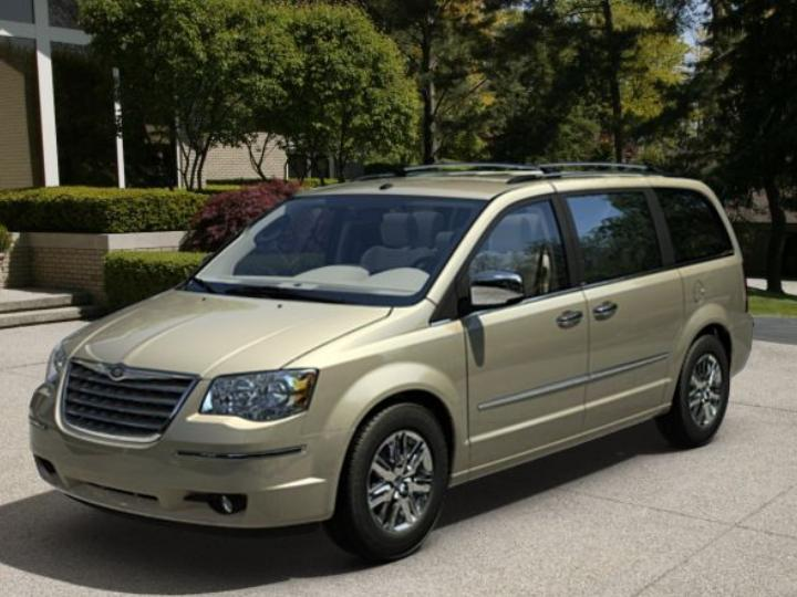 2008 Chrysler Town Amp Country Pictures Cargurus