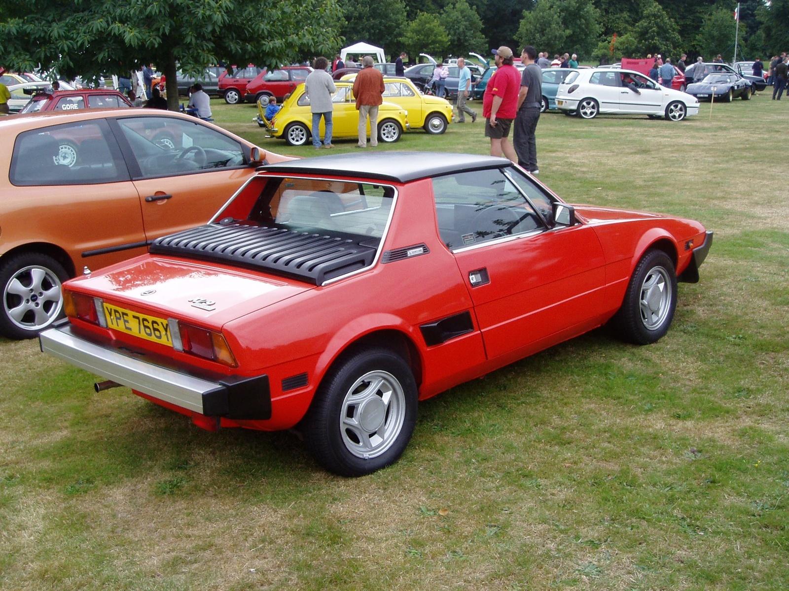 1982 Fiat X1 9 Pictures Cargurus