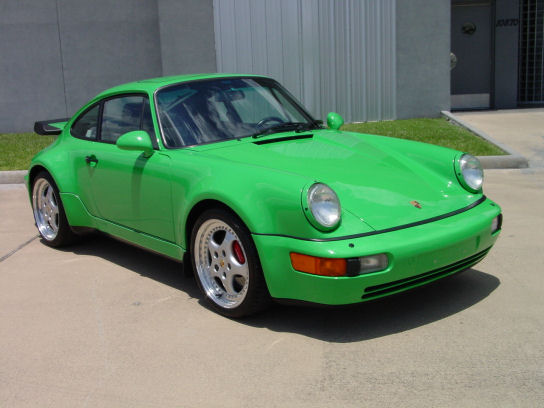 1994 Porsche 911 Carrera Turbo, 1994 Porsche 911 2 Dr Carrera Turbo Coupe picture, exterior
