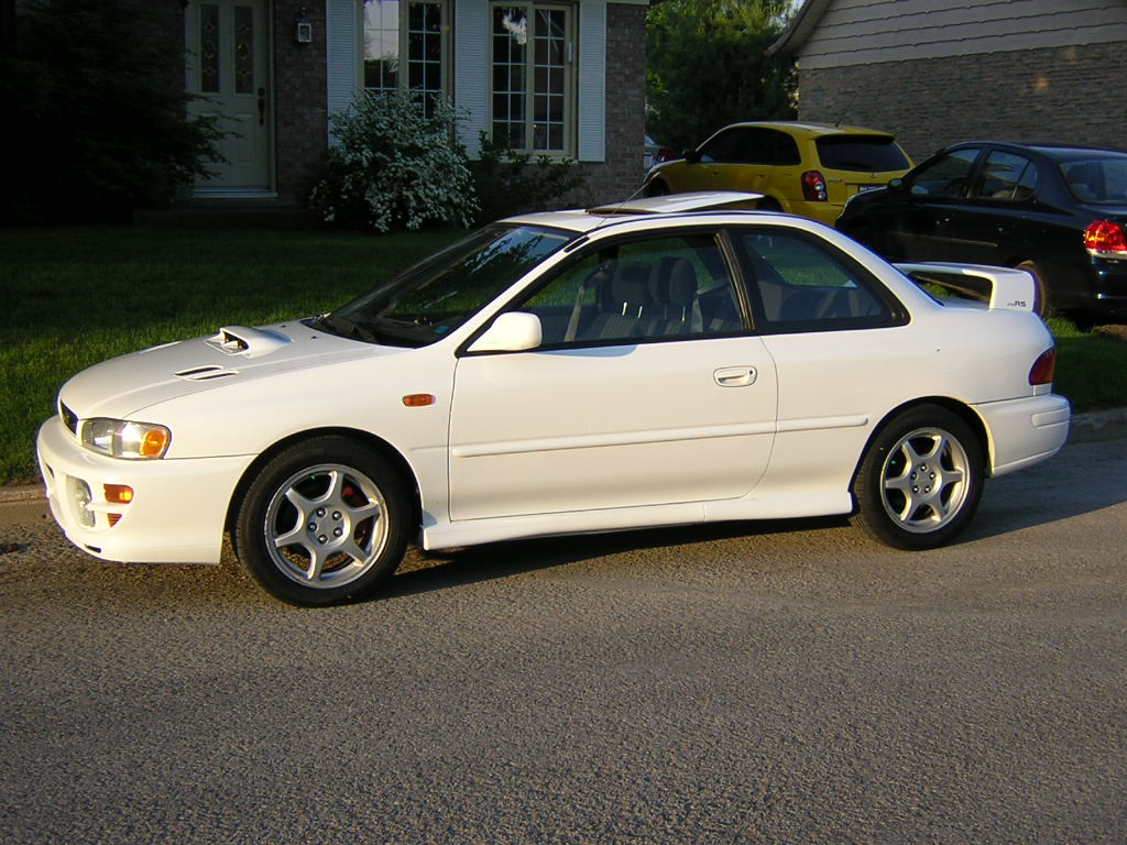 picture of 2000 subaru impreza 2 5 rs coupe exterior. Black Bedroom Furniture Sets. Home Design Ideas