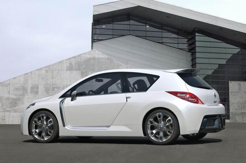 Nissan Versa Hatchback 2008. Nissan Versa 2008 Hatchback.