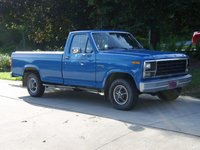 1980 Ford F-150, Picture taken with the old tires and wheels on it.