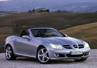 2008 Mercedes-Benz SLK-Class Picture Gallery