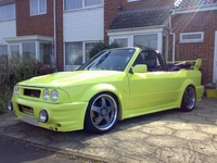 1984 Ford Escort Convertible picture
