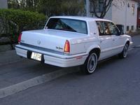 1992 Chrysler New Yorker Salon, 1992 Chrysler New Yorker 4 Dr Salon Sedan picture