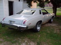 1975 Pontiac Le Mans, rear view after painting and rims
