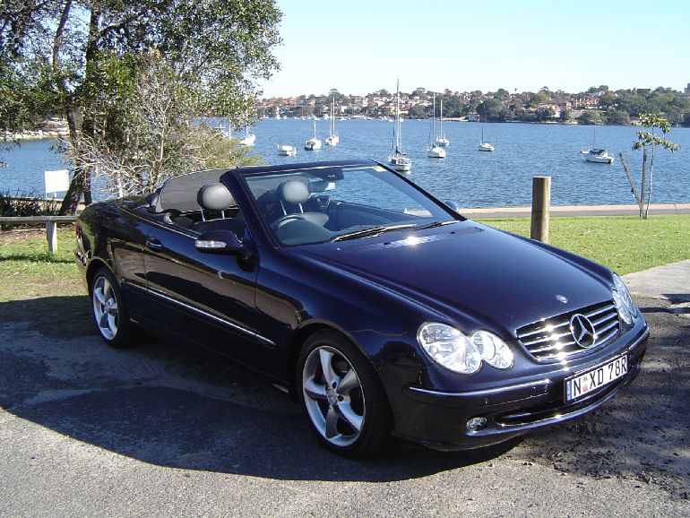 free amazing hd wallpapers 2005 mercedes clk convertible. Black Bedroom Furniture Sets. Home Design Ideas