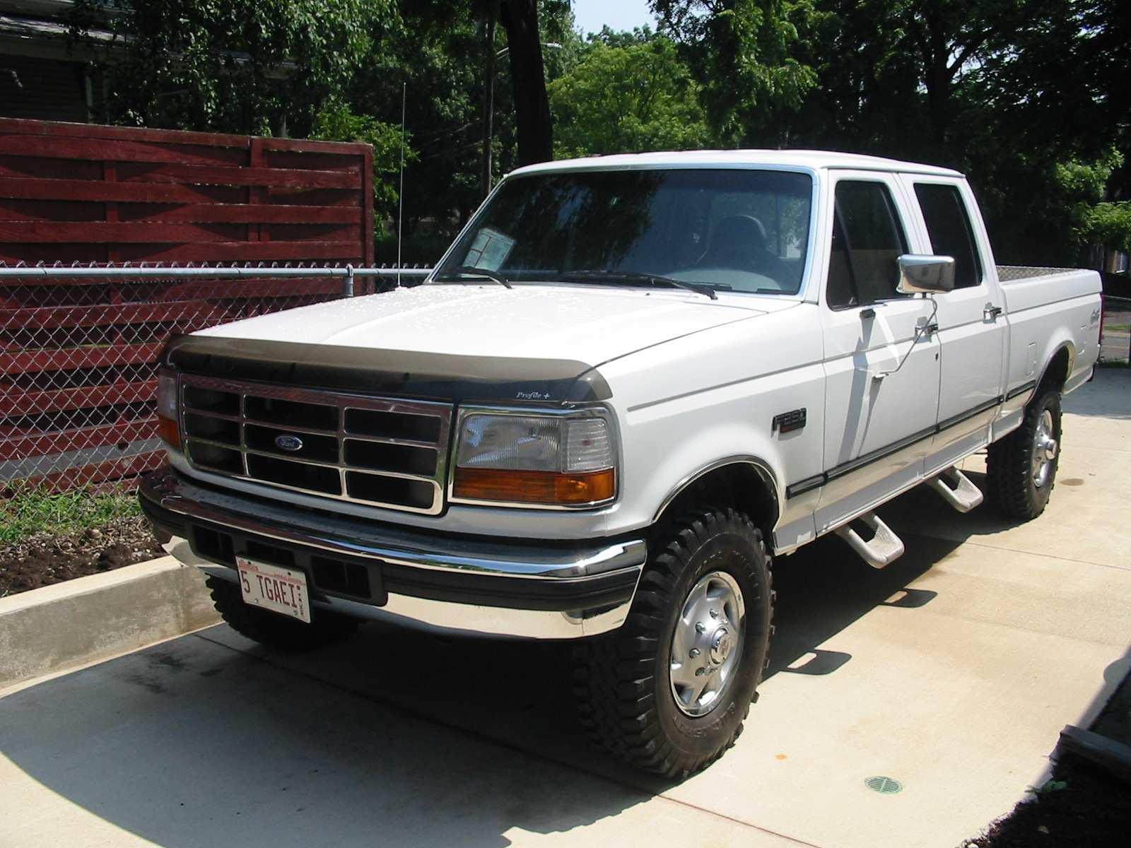 1996 ford f-250 - overview