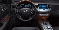 2009 Hyundai Genesis, steering wheel, interior, manufacturer