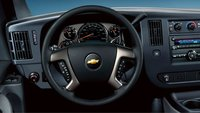 2008 Chevrolet Express, steering wheel, interior, manufacturer