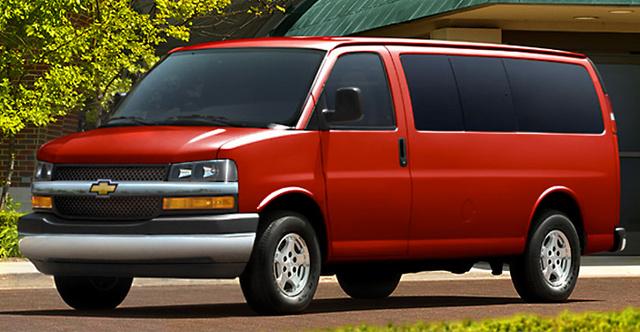 2008 Chevrolet Express, exterior, manufacturer