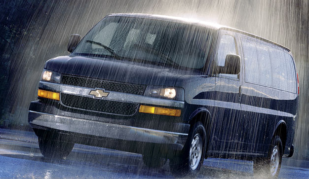 2008 Chevrolet Express, front view, exterior, manufacturer, gallery_worthy