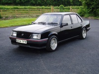 1984 Opel Ascona Overview